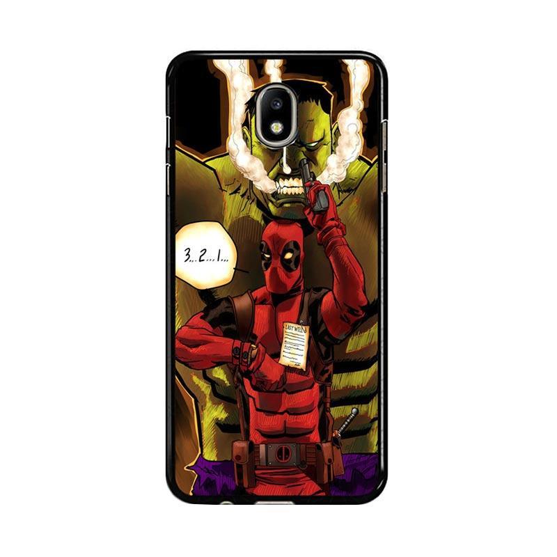 Flazzstore Deadpool The Hulk Z0164 Custom Casing for Samsung Galaxy J5 Pro 2017