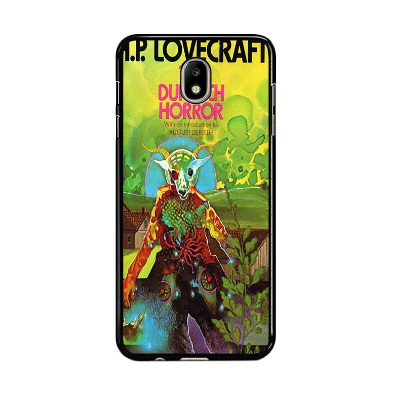 Flazzstore Hp Lovecraft Paperback Cover The Dunwich Horror Z0194 Custom Casing for Samsung Galaxy J5 Pro 2017