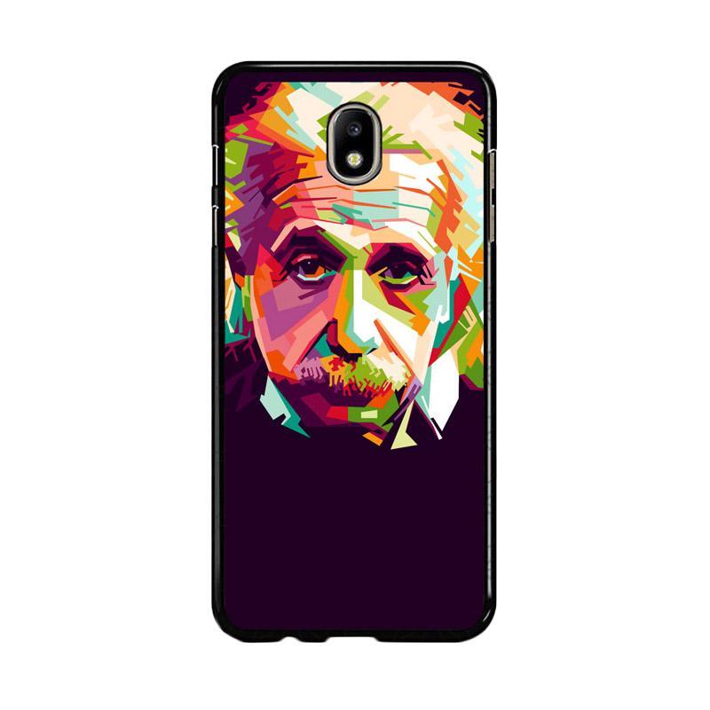 Flazzstore Albert Einstein In Wpap Art Z0318 Custom Casing for Samsung Galaxy J7 Pro 2017
