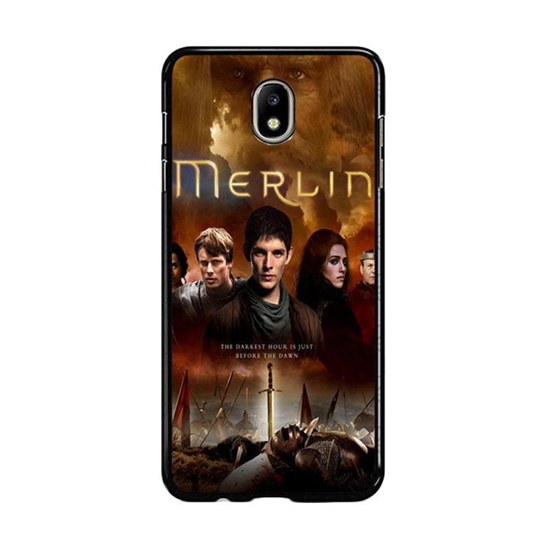 Flazzstore Merlin Fantasy Adventure Television Z0556 Custom Casing for Samsung Galaxy J7 Pro 2017