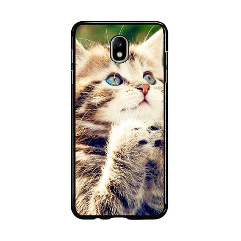 Flazzstore Prayer Cat Z0249 Custom Casing for Samsung Galaxy J5 Pro 2017