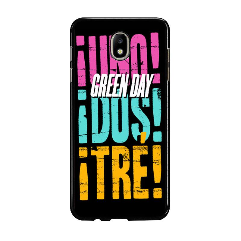 Flazzstore Green Day 2013 Uno Dos Tre Z0553 Custom Casing for Samsung Galaxy J5 Pro 2017