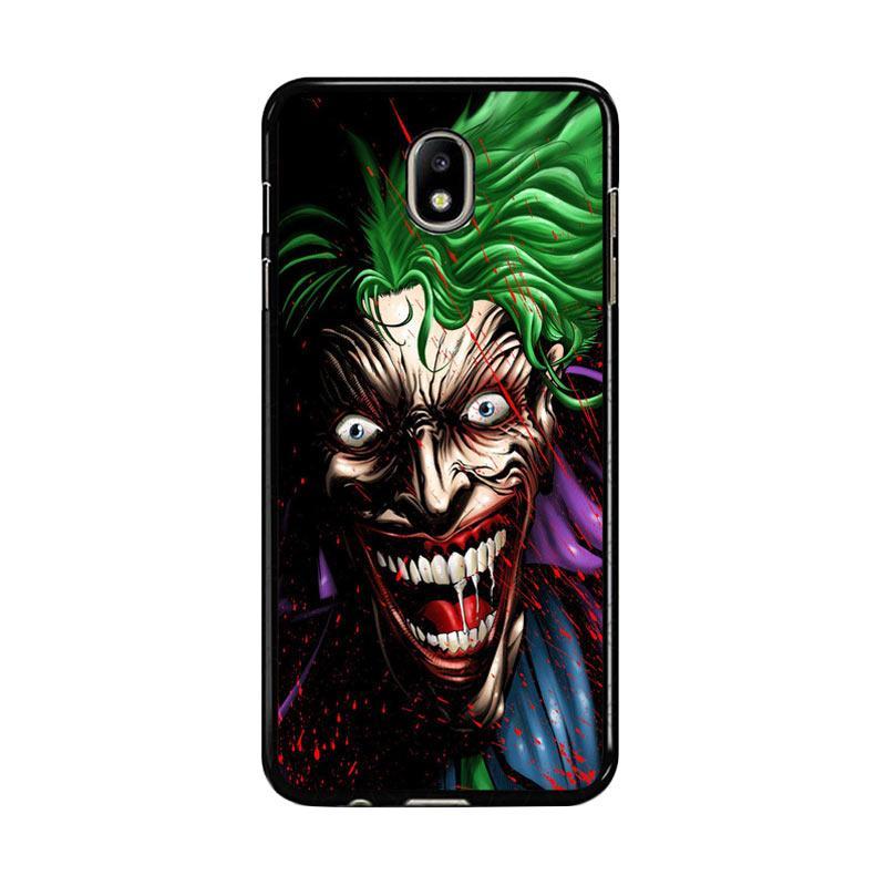 Flazzstore Joker Face Cartoon Z1273 Custom Casing for Samsung Galaxy J7 Pro 2017