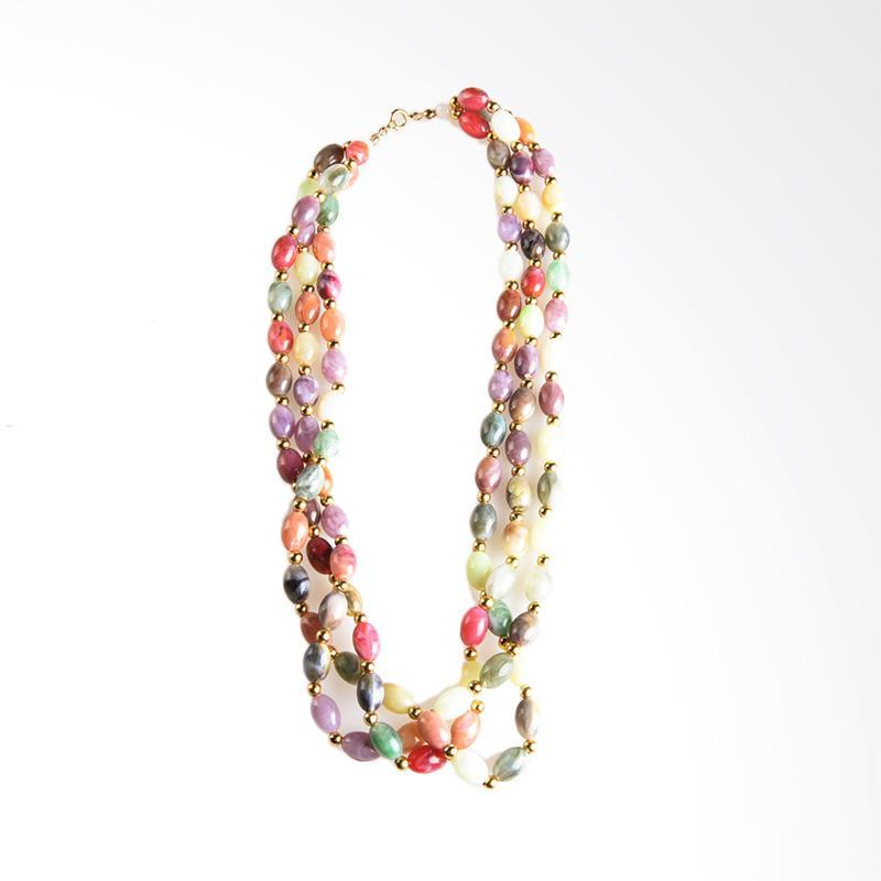 1901 Jewelry Amarilis KL.1634.HR63 Kalung Wanita - Multicolor