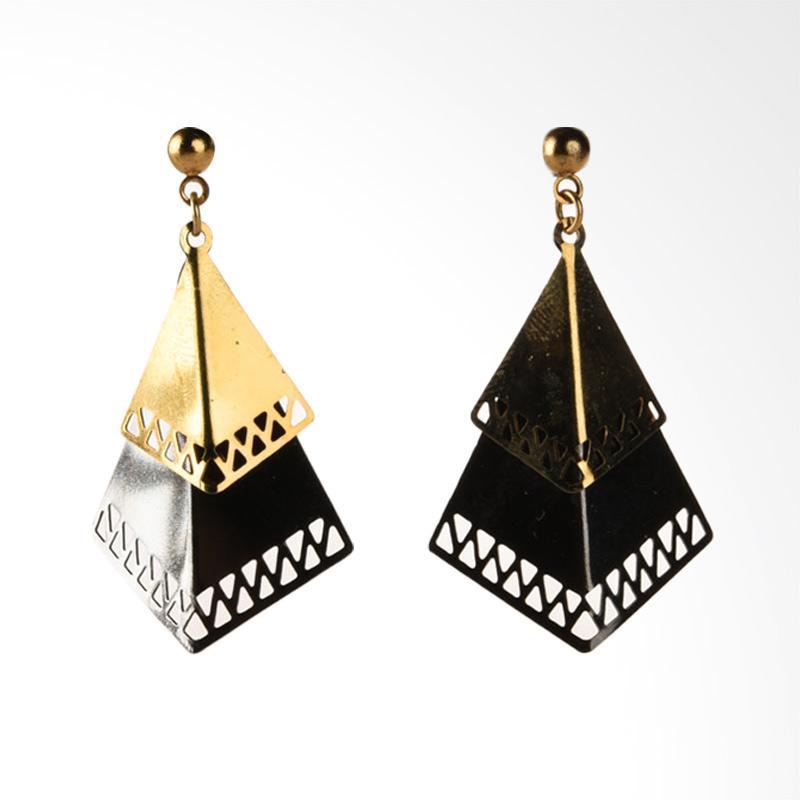 1901 Jewelry Triangle 1671 GW.1671.HR39 Giwang Women Earrings - Multicolor