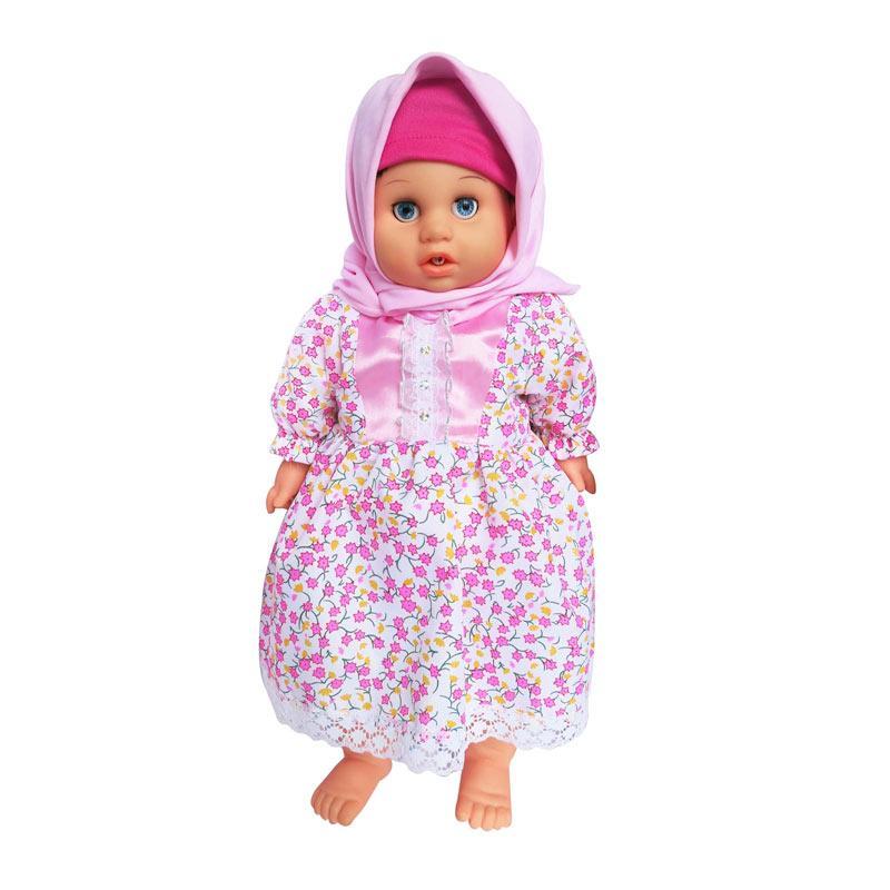 7L Anisa Hijab Perfumed Doll Mainan Anak - Pink