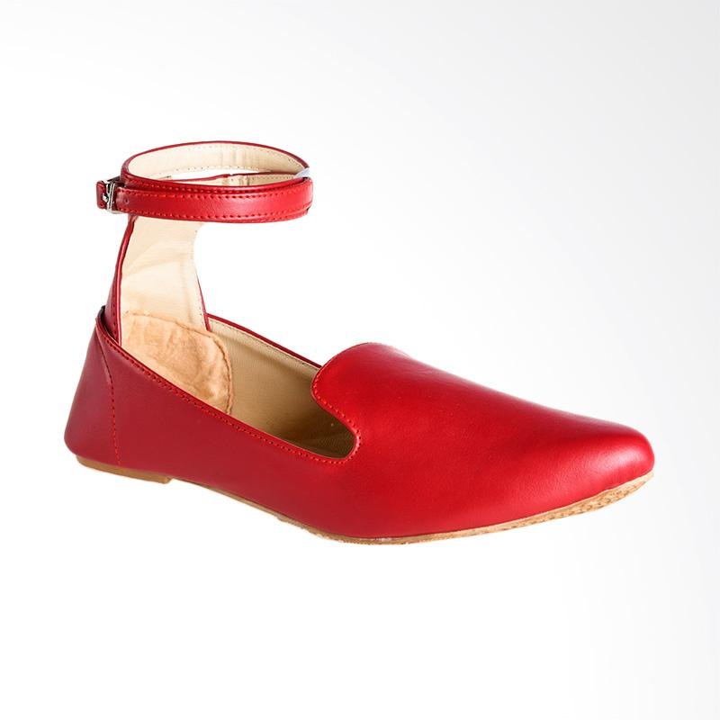 A.C.C.E.P.T. Merilee Flat Shoes - Red