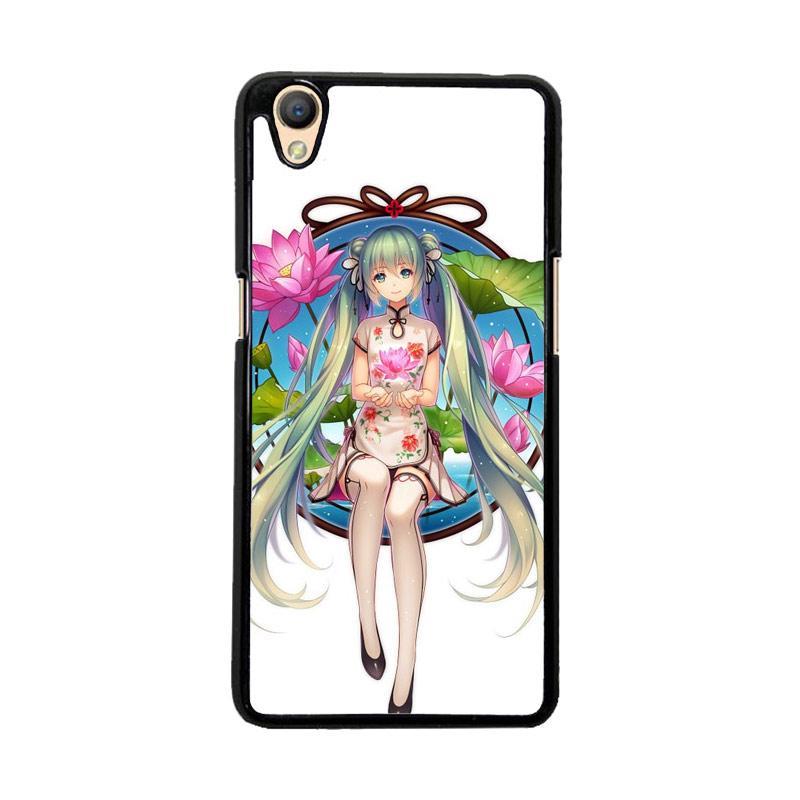 Flazzstore Hatsune Miku Anime O0680 Custom Casing for Oppo Neo 9 A37