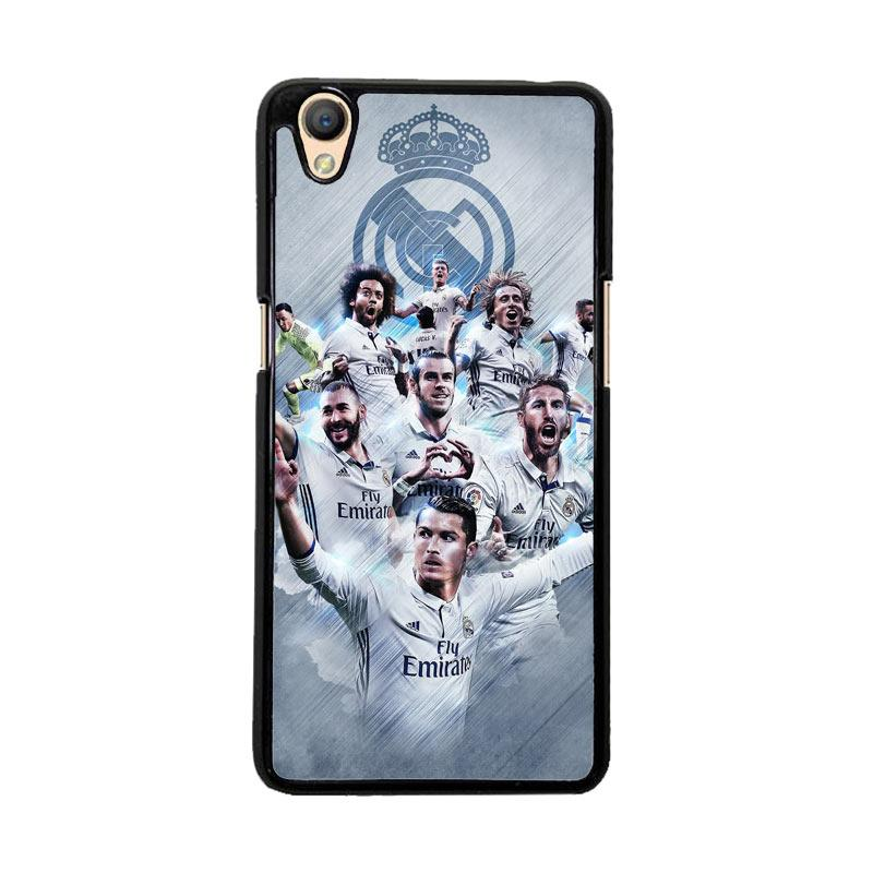 Flazzstore Real Madrid Team O1019 Custom Casing for Oppo Neo 9 or Oppo A37