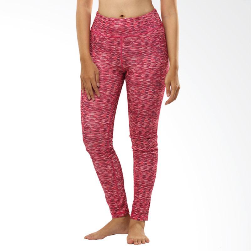 N.Y.L Active Long Pant Celana Olahraga Wanita - Pinky Red Misty [09NYL200013]