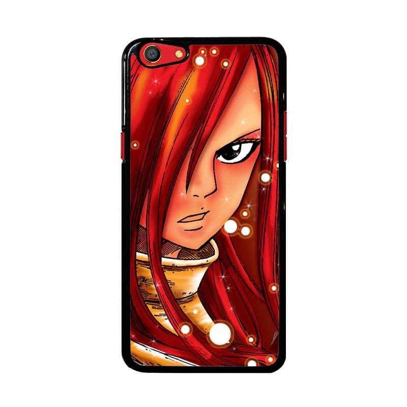 Flazzstore Erza Fairy Tail Z1046 Custom Casing for Oppo F3