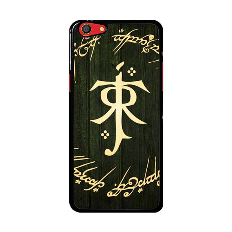 Flazzstore Lord Of The Ring Symbol Z1090 Custom Casing for Oppo F3