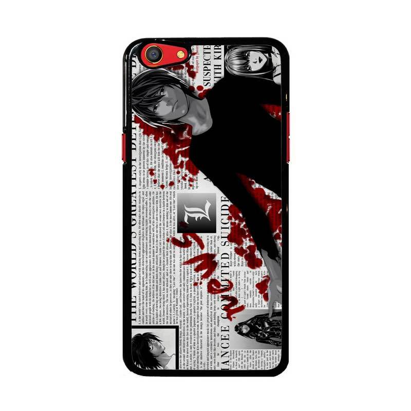 Flazzstore Death Note Z1215 Custom Casing for Oppo F3