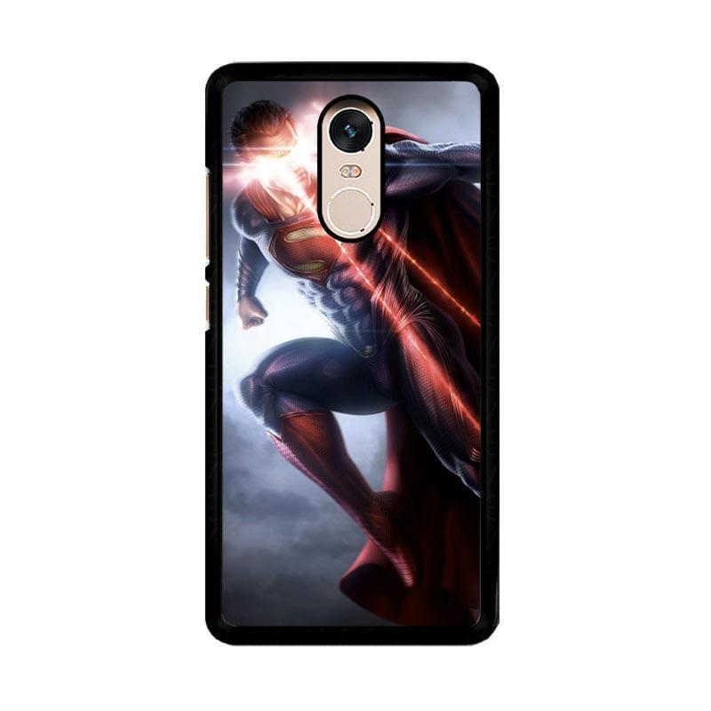 Flazzstore Superman Cool Z1041 Custom Casing for Xiaomi Redmi Note 4 or Note 4X Snapdragon Mediatek