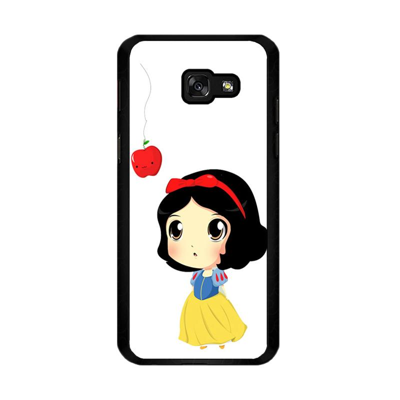 Flazzstore Cute Snow White Chibi F0160 Custom Casing for Samsung Galaxy A5 2017