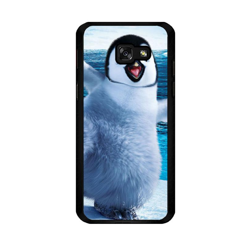 Flazzstore Happy Feet Penguin F0448 Custom Casing for Samsung Galaxy A5 2017
