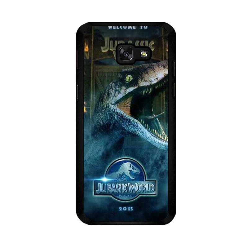 Flazzstore Welcom Jurasic World F0719 Custom Casing for Samsung Galaxy A5 2017