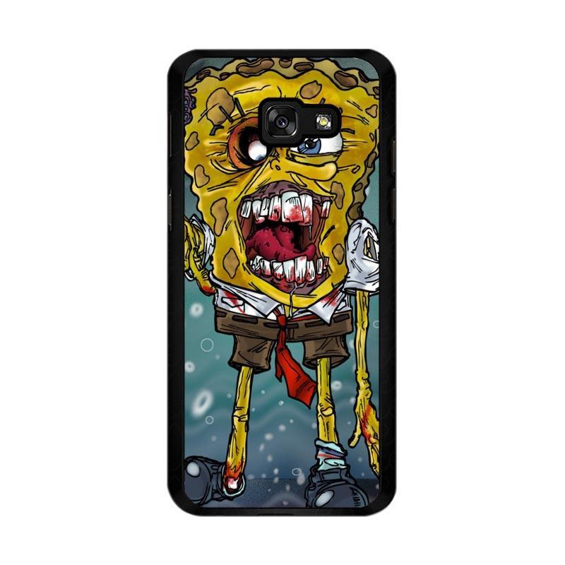 Flazzstore Zombie Sponge Bob Z0217 Custom Casing for Samsung Galaxy A5 2017