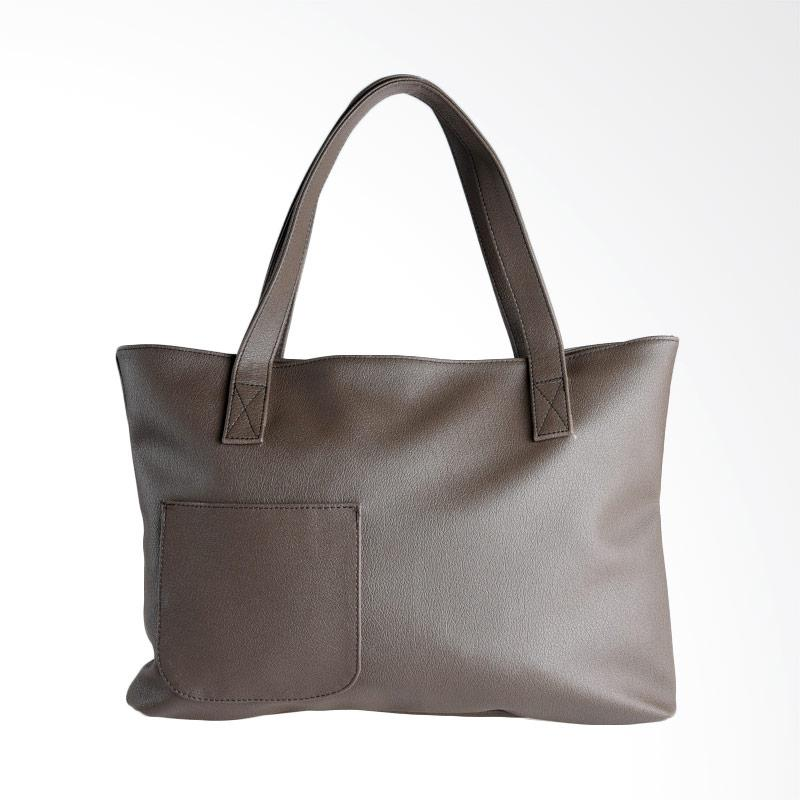 Hanan Project Joke Shoulder Bag - Grey