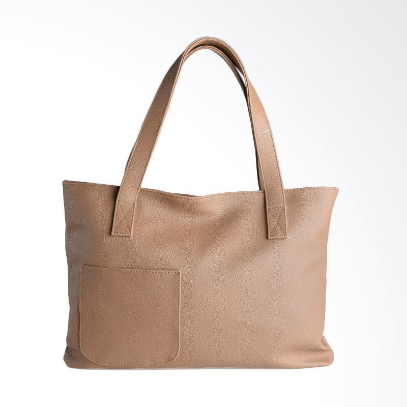 Hanan Project Joke Shoulder Bag - Camel