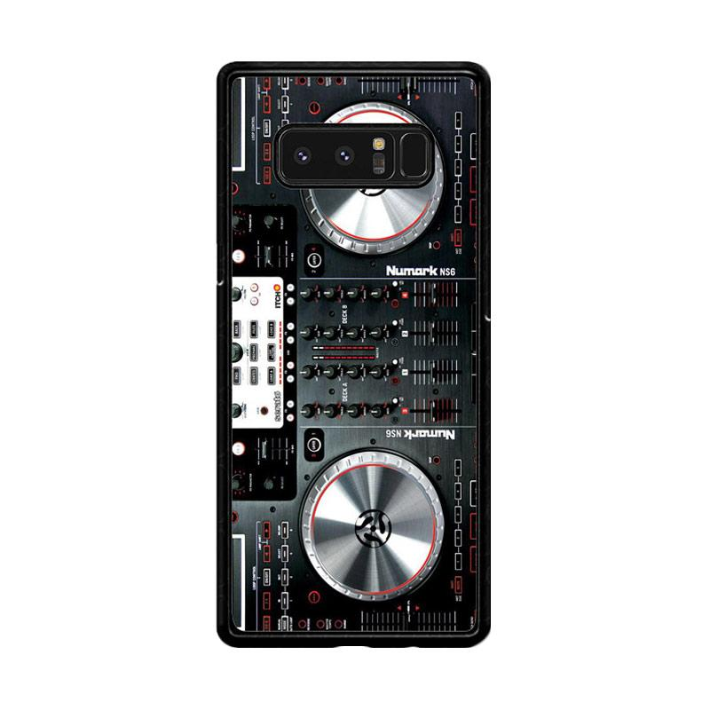 Flazzstore Digital Mixer Dj Turntable Electronic Music F0362 Custom Casing for Samsung Galaxy Note8