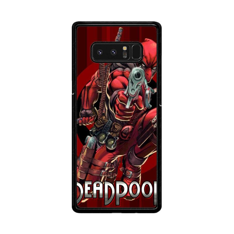 Flazzstore Deadpool Marvel Dc 2 F0373 Custom Casing for Samsung Galaxy Note8