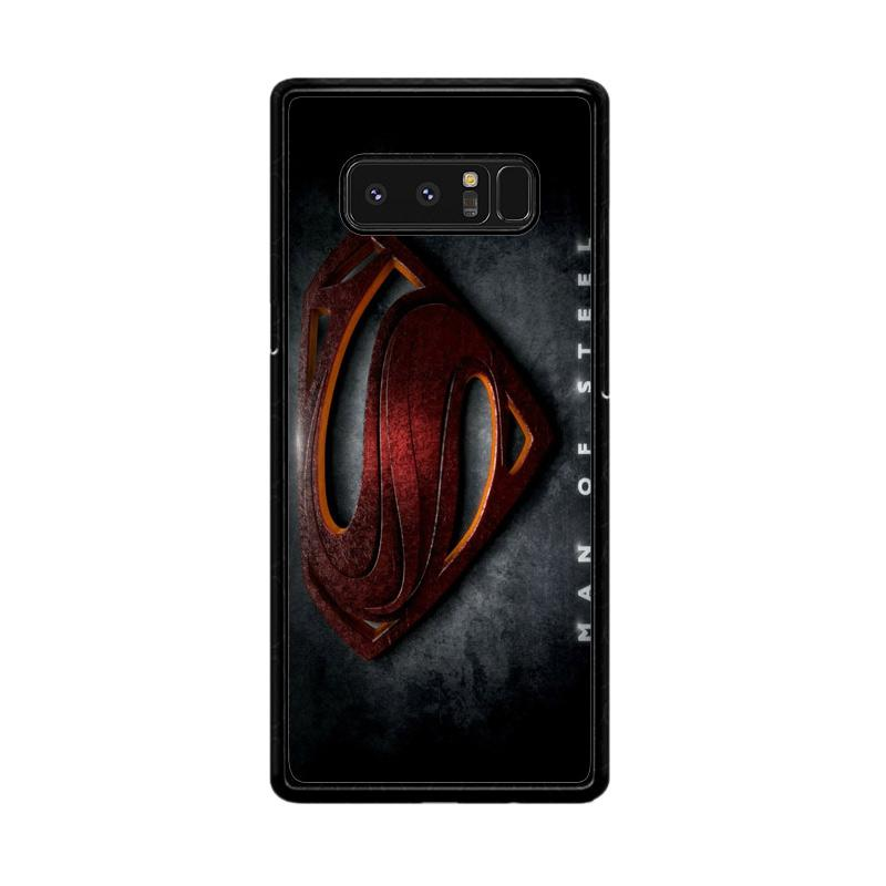 Flazzstore Man Of Steel F0537 Custom Casing for Samsung Galaxy Note8