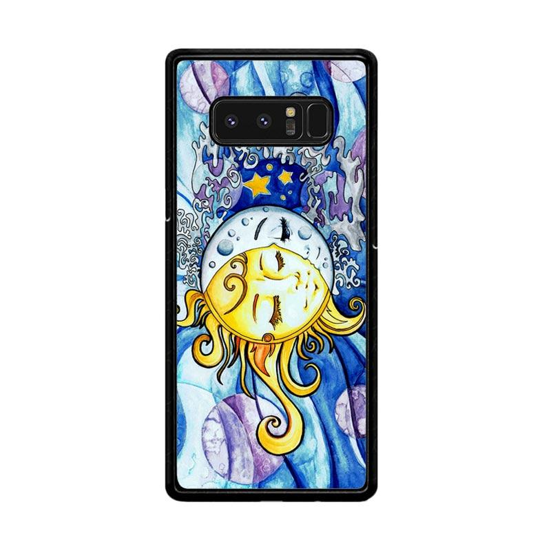 Flazzstore Sun And Moon Z1074 Custom Casing for Samsung Galaxy Note8