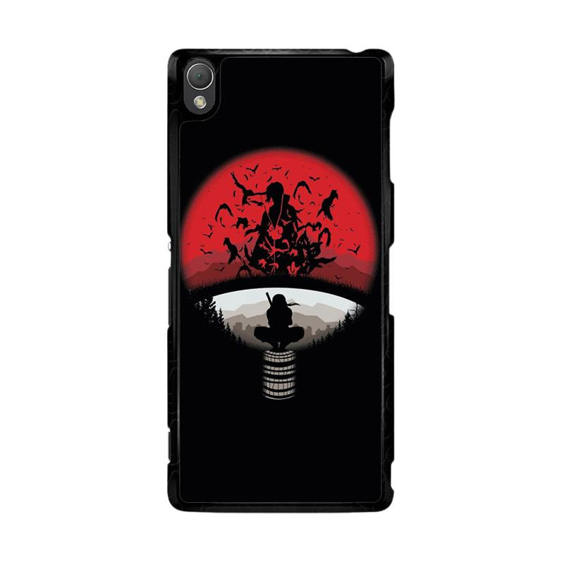Flazzstore Uchiha Clan Symbol mashup with Itachi O0420 Custom Casing for Sony Xperia Z3