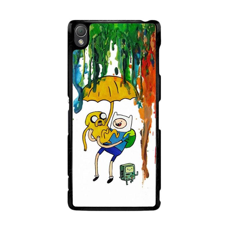 Flazzstore Adventure Time Painting F0254 Custom Casing for SONY Xperia Z3