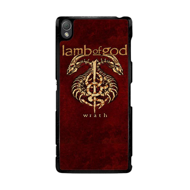Flazzstore Lamb Of God Metal Band F0192 Custom Casing for Sony Xperia Z3