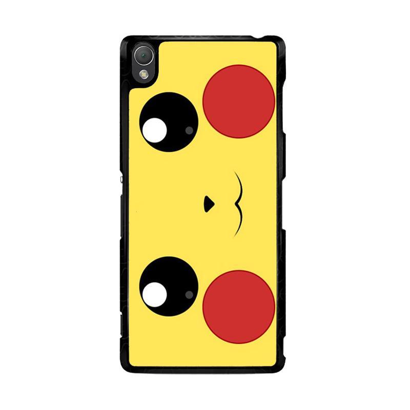 Flazzstore Pokemon Pikachu Poket Monster Case F0580 Custom Casing for Sony Xperia Z3