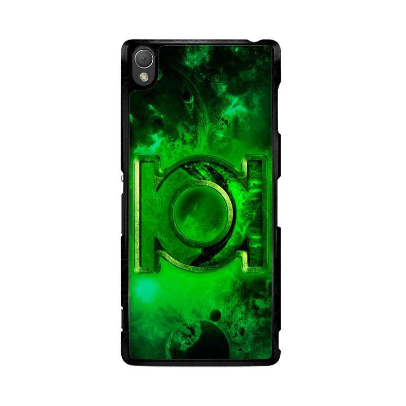 Flazzstore Green Lantern Symbol Z0137 Custom Casing for Sony Xperia Z3