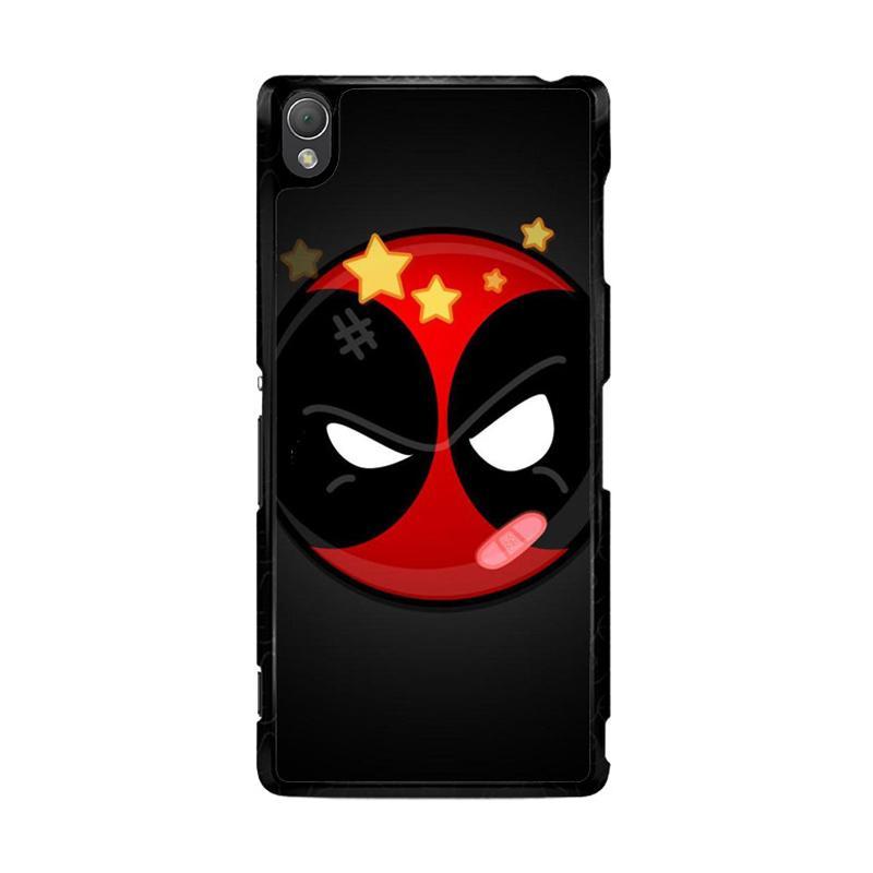 Flazzstore Deadpool Superhero Logo Z0162 Custom Casing for Sony Xperia Z3