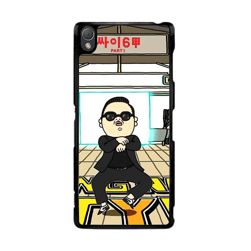 Flazzstore Gangnam Style Psy Dancing Z0185 Custom Casing for Sony Xperia Z3
