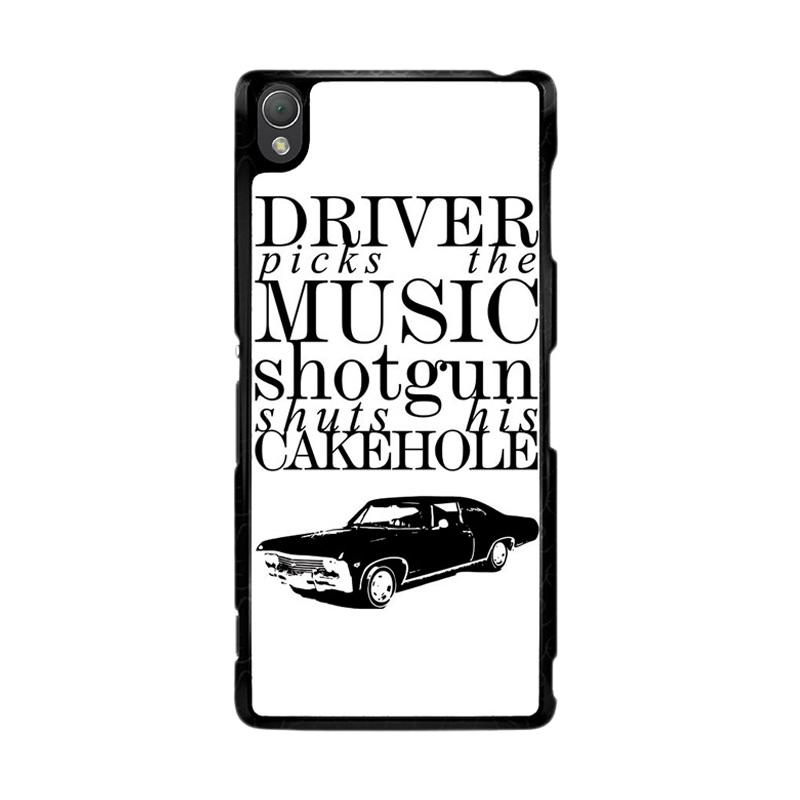 Flazzstore Supernatural Z0198 Custom Casing for Sony Xperia Z3