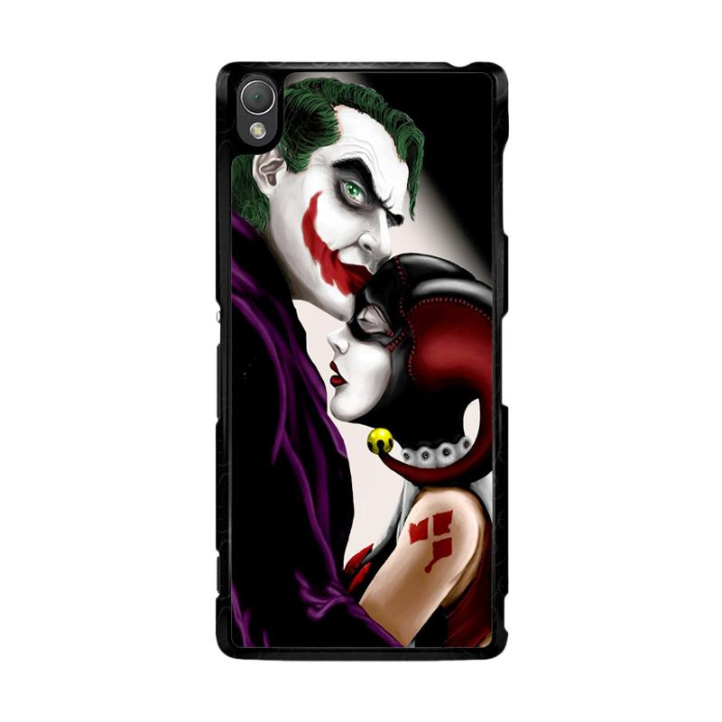 Flazzstore Harley Quinn And Joker Z0557 Custom Casing for Sony Xperia Z3
