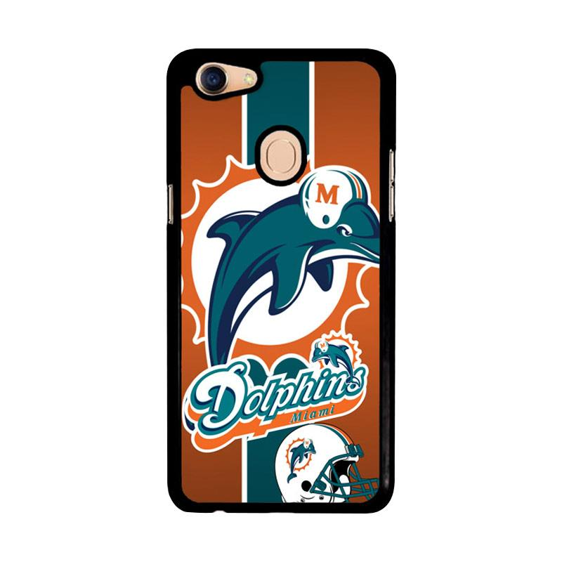 Flazzstore Miami Dolphins Z2995 Custom Casing for Oppo F5