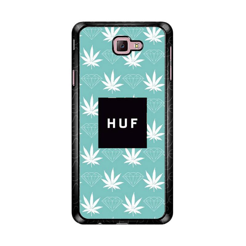 Flazzstore Weed Diamons Huf Logo Z4935 Custom Casing for Samsung Galaxy J7 Prime