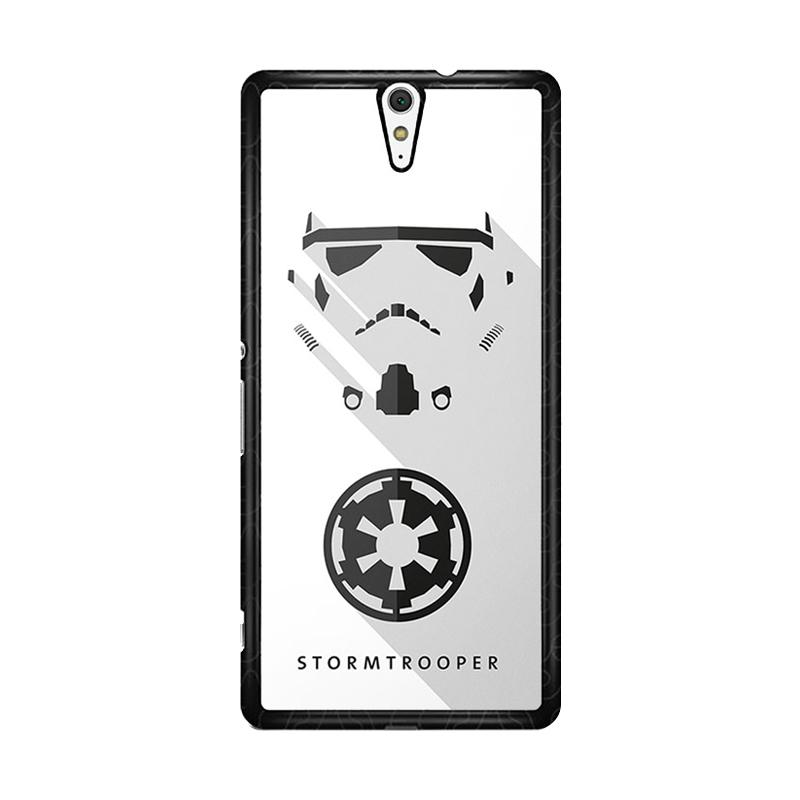 Flazzstore Stormtrooper O0246 Custom Casing for Sony Xperia C5 Ultra