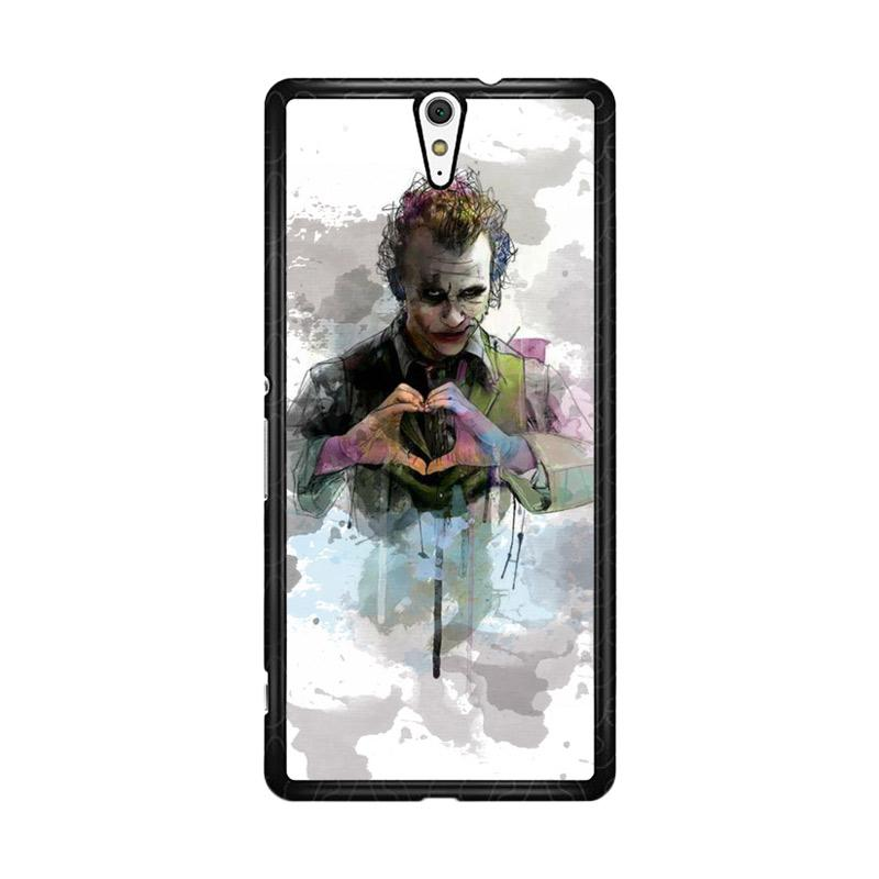 Flazzstore Joker Water Colour O0455 Custom Casing for Sony Xperia C5 Ultra