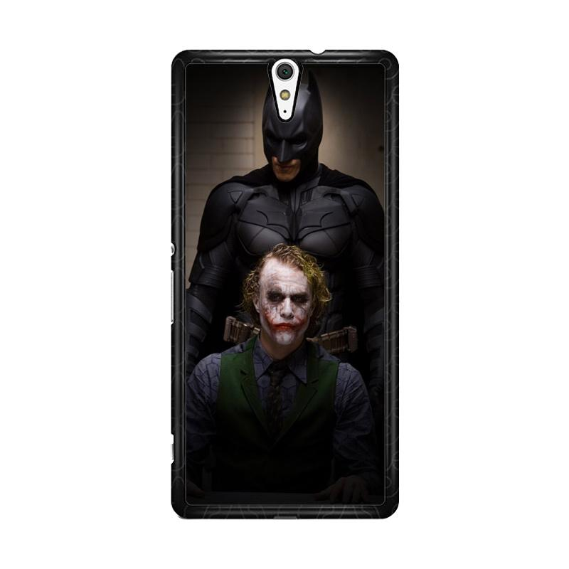 Flazzstore Batman And Joker In The Dark Knight F0321 Custom Casing for Sony Xperia C5 Ultra