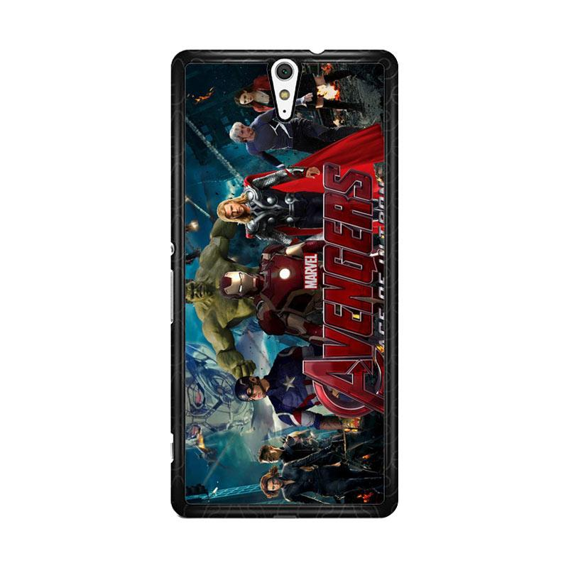 Flazzstore Avenger Age Of Ultron 1 F0328 Custom Casing for Sony Xperia C5 Ultra
