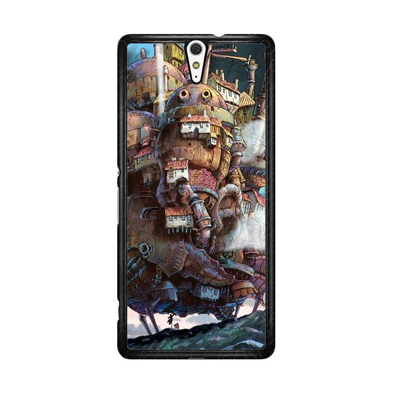 Flazzstore Howl'S Moving Castle Z0087 Custom Casing for Sony Xperia C5 Ultra