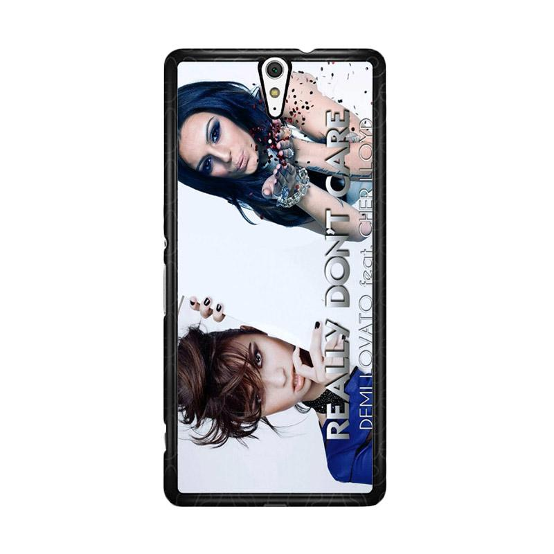 Flazzstore Demi Lovato Feat Cher Lloyd  Really Dont Care Z0129 Custom Casing for Sony Xperia C5 Ultra