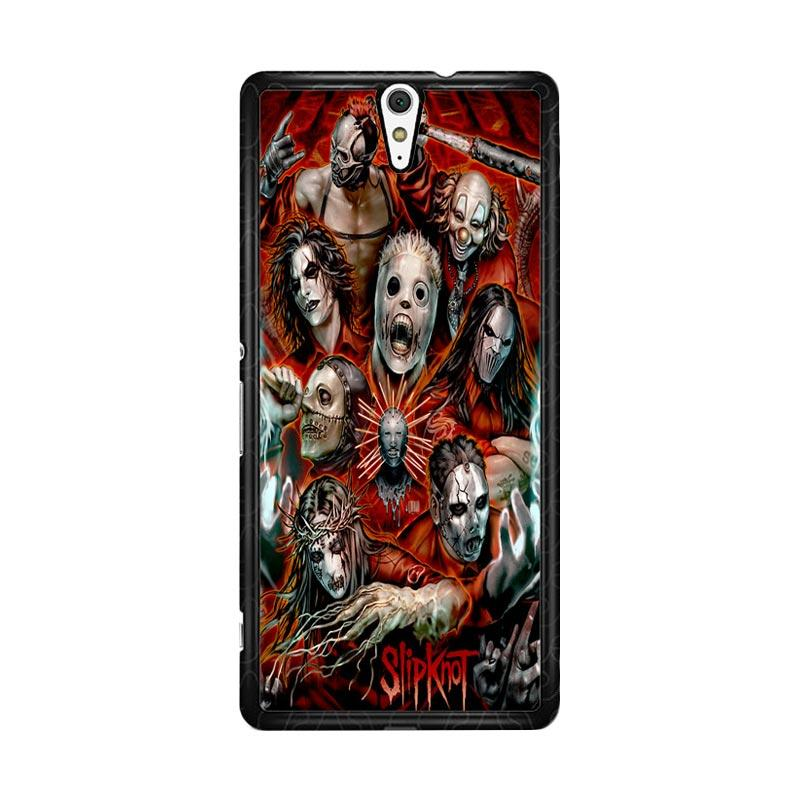 Flazzstore Slipknot Z0403 Custom Casing for Sony Xperia C5 Ultra