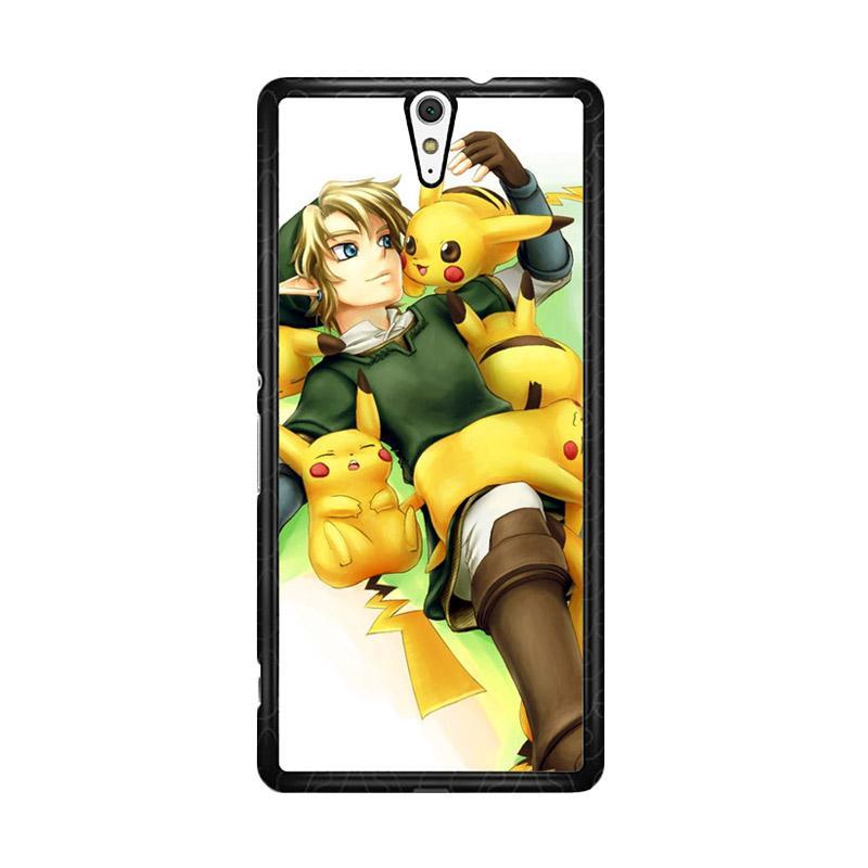 Flazzstore Zelda With Pikachu Pokemon Z1061 for Sony Xperia C5 Ultra