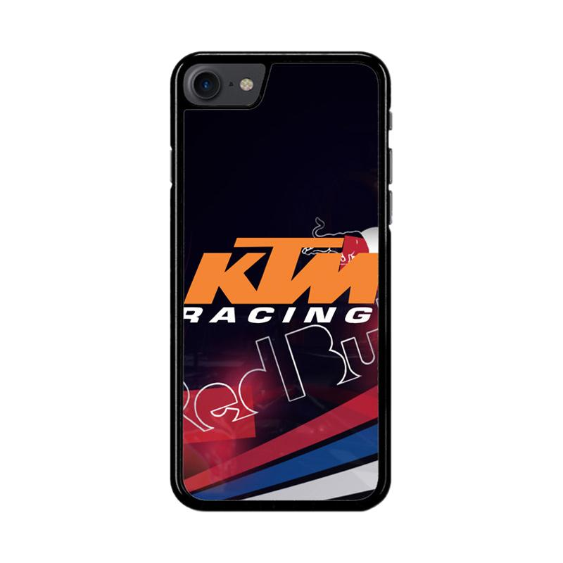 Flazzstore Ktm Racing Red Bull Z3359 Custom Casing for iPhone 7 or iPhone 8