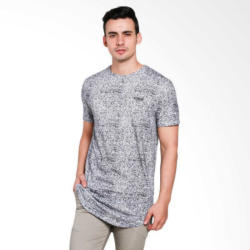 3SECOND 7301 Men Tshirt - Black