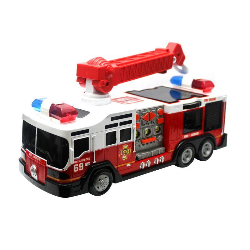 TDT Pemadam Kebakaran Super Rescue Mainan Mobil